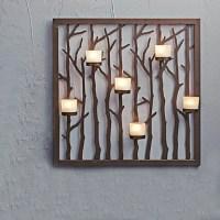 Metal Wall Art Wall Decor,Branch Candlestick Wall Decor ...