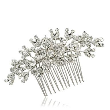 bridal hairpins rhinestone flower hair bs wedding hair jewelry accessories pageant headpiece