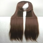 popular cosplay wig party brown