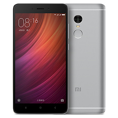 "Xiaomi Redmi Note 4 5.5 "" MIUI 4G Smartphone (Dual SIM Deca Core 13 MP 3GB + 64 GB Gold / Silver / Grey)"