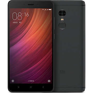 "Xiaomi® Redmi Note4 5.5 "" MIUI 4G Smartphone (Dual SIM Deca Core 13 MP 4GB + 64 GB Black)"