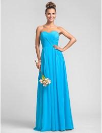 Pool Color Bridesmaid Dresses - Discount Wedding Dresses