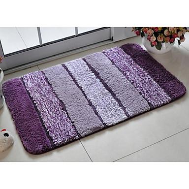 Bath Rug Purple Stripe 20 x 31  USD  2599