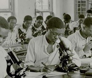 1947 Students at Protozoology Class Yaba Higher College NNP