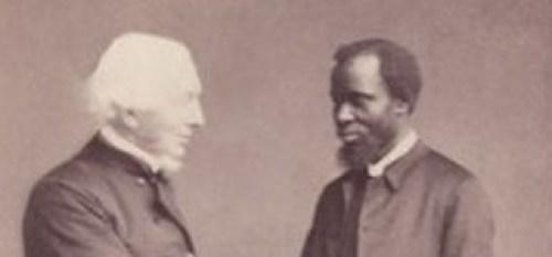 James Holy Johnson with Dean Hugh Boyd McNeile