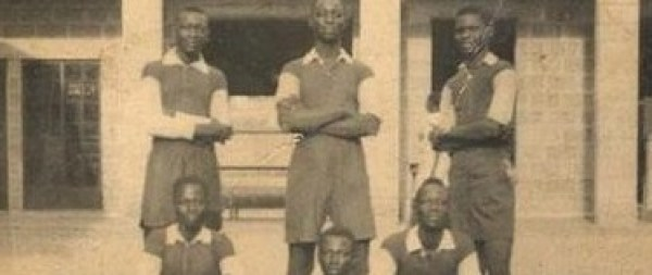 CMS Grammar school 1938 Football Team