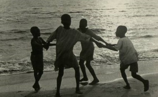 Based on Life expectancy in Nigeria, these children playing on a beach, 1940s on the average might not have lived till the new milleneum