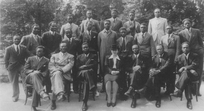 WASU members with Nkrumah of Ghana