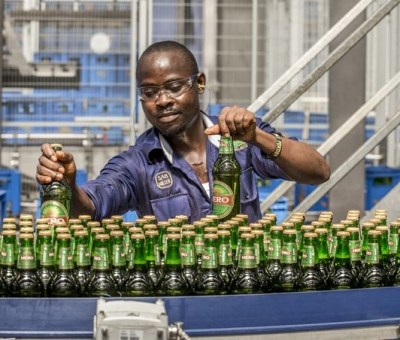 The beer, popularly called Oh Mpa in Igbo language is produced by SABMiller Plc., This brand, which sought to give the local feel, pushes lower-costs products to beat bigger brands. Photo: SABMiller Plc. via Bloomberg