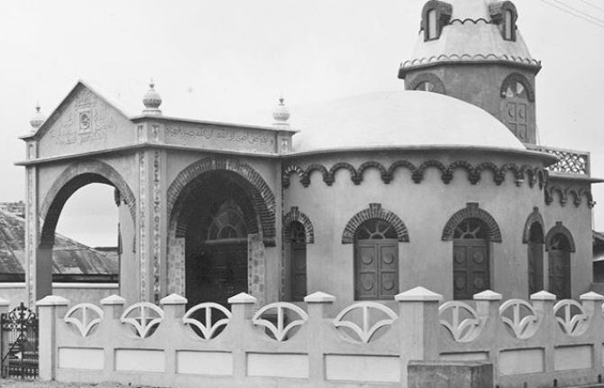 Humuani Mosque, Lagos -1933 constructed by Cappa & D'Alberto