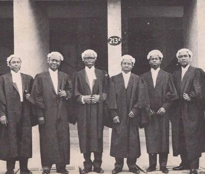 Nigeria Law School graduate of the 1960s.
