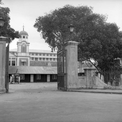 Old Secretariat in Lagos 1954