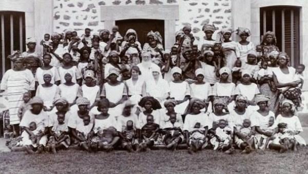 Jane McCotter at the Maternity Institute of Abeokuta, c.1929.