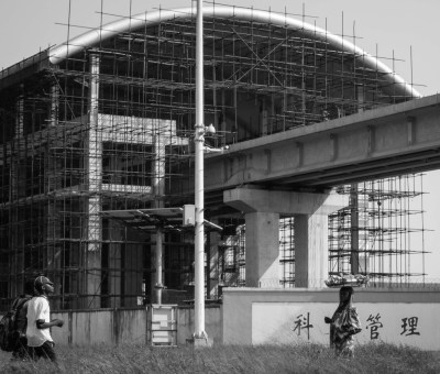 Infrastructure in Lagos, powered by China. The Lagos Light rail project