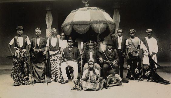 King JaJa of Opobo and Nana Olomu of Itsekiri-in-Council