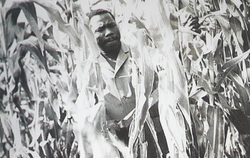 Obasanjo at his Ota farm.
