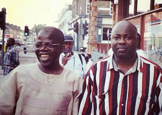 Bola Tinubu,and Dele Momodu, exiling in London during NADECO years.