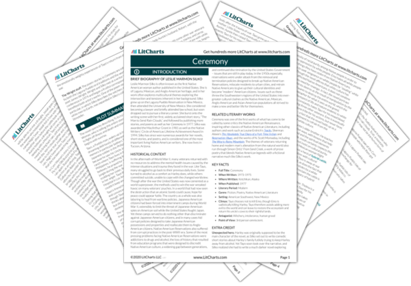 Ceremony Study Guide from LitCharts  The creators of