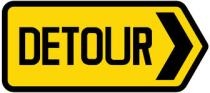 Road Sign - Detour