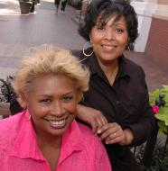 Virginia DeBerry and Donna Grant