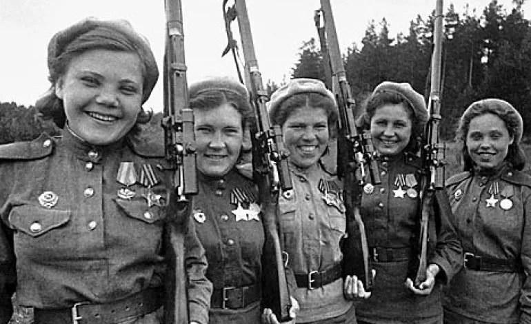 Russian Women Section Del
