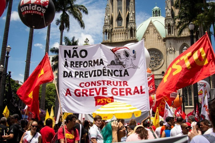 Brazil: Against the Pension Reform, Let Us Build The General Strike!