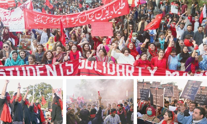 Student Solidarity Marches Held Across the Country