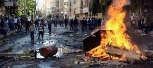 Manifestaciones en las ciudades turcas contra el EI.