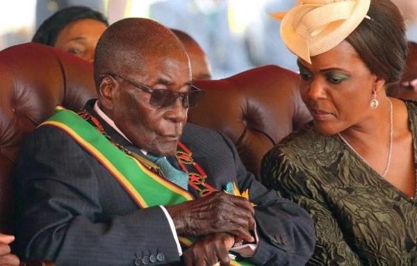 Robert y Grace Mugabe
