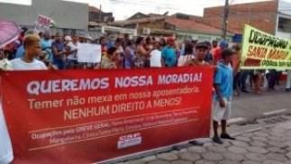 movimento-operario, brasil - Reforma da previdência, Greve geral, 15 de março