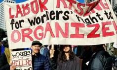 Os trabalhadores se levantam contra Trump