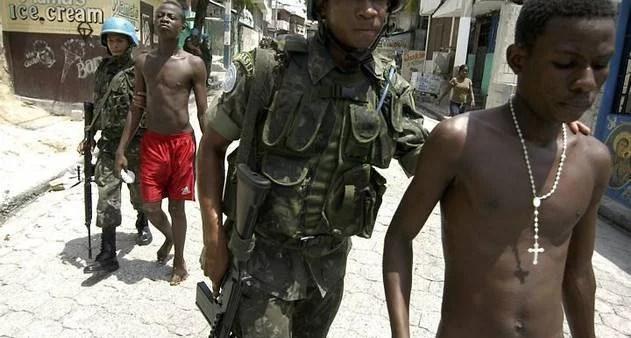 Parece o Rio, mas é o Haiti