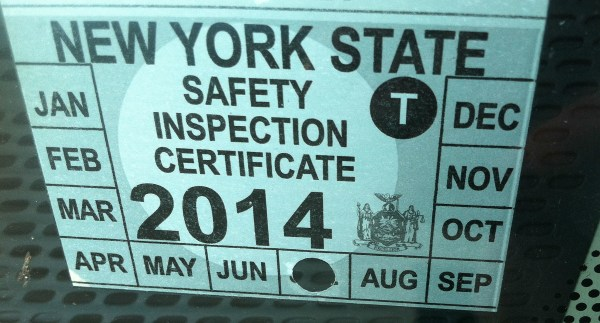 Dmv Inspection Stickers Year Of Clean Water