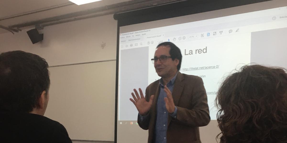 Seminario Leer, Crear, Investigar la Literatura Electrónica Latinoamericana: Primer Día