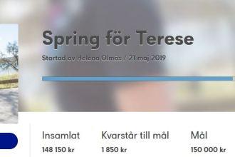 Spring för Terese