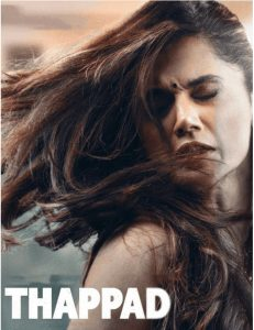 Photo of an Indian Movie titled Thappad