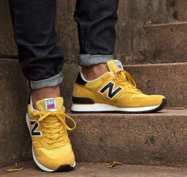30代メンズに似合う黄色スニーカーコーデ