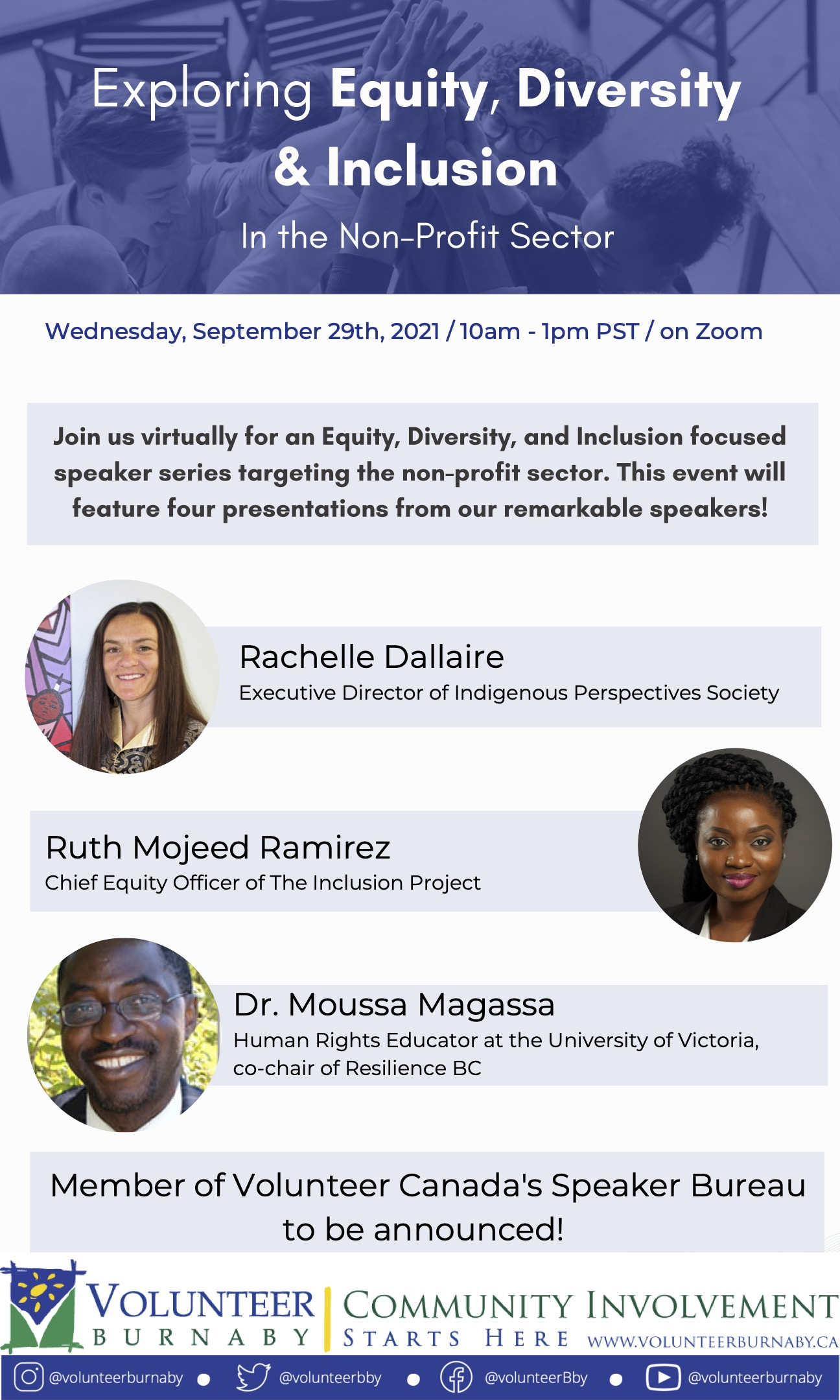 You are currently viewing Equity, Diversity, and Inclusion Speaker Series