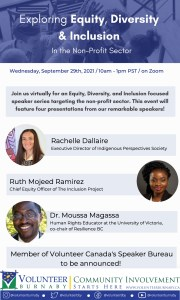 Read more about the article Equity, Diversity, and Inclusion Speaker Series