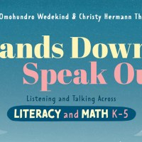 Book Review: Hands Down, Speak Out - Listening and Talking Across Literacy and Math K-5
