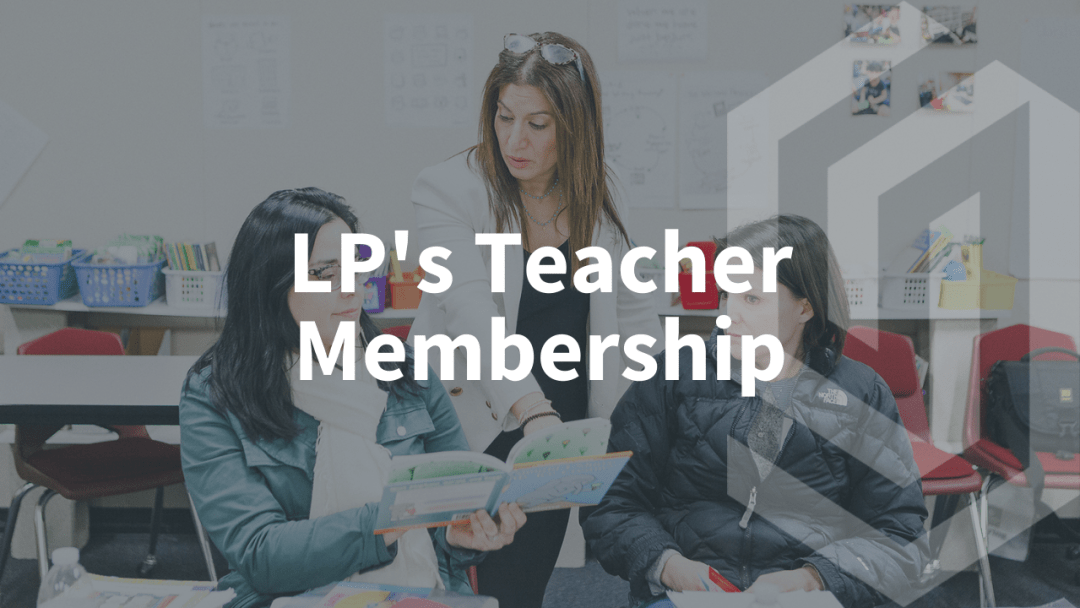 Literacy Partners Teacher Membership