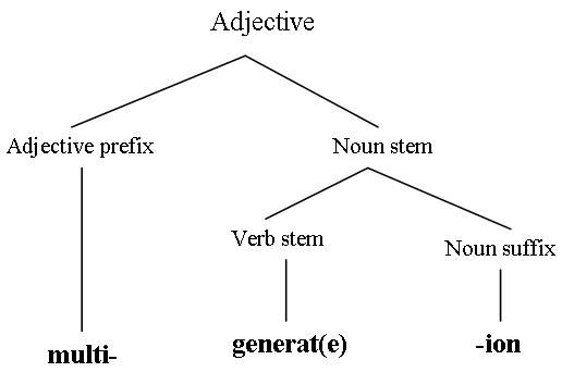 morphology tree diagram 14 pin relay socket wiring literacyreferencelem