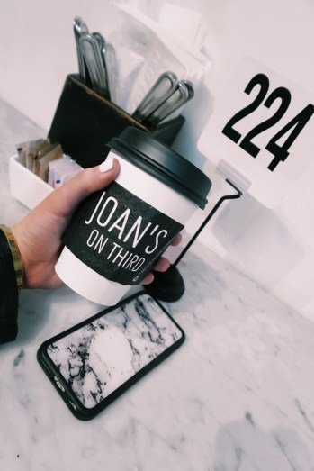 Joan's On Third: Cappuccino