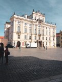 Archbishop Palace outside Prague Castle