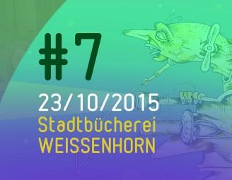 Literalotto #7: spontane Gedichte, Gastautor, viel Musik und Bücher ohne Ende - am 23. 10. 2015 in der Stadtbücherei Weissenhorn!