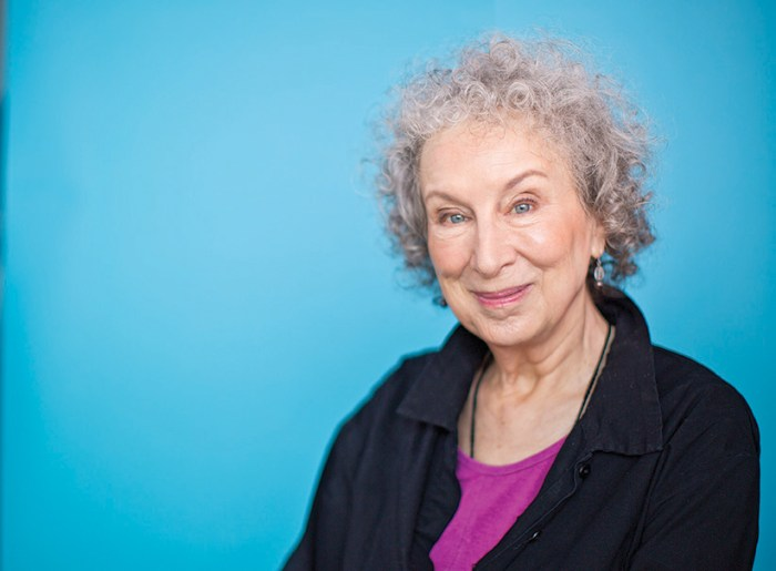 Portrait of Margaret Atwood. (Photograph by Nick Iwanyshyn)