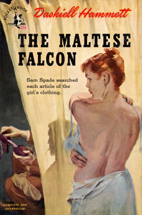 Hammett-Maltese-Falcon-Pocket-Book-1945
