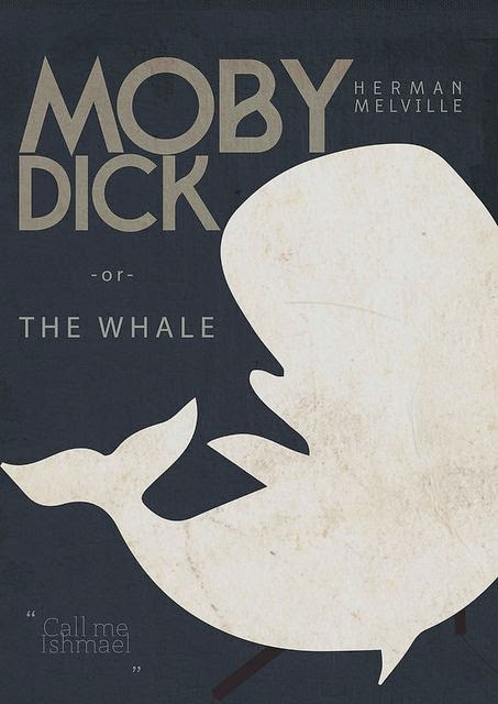 Good evil dick vs ahab moby you for