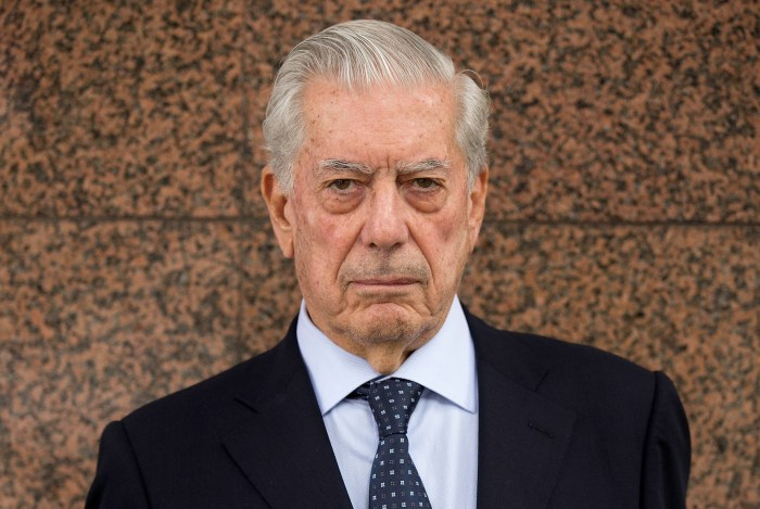 Nobel Mario Vargas Llosa and Florentino Perez Present 'Catedra Real Madrid' Project 7th Edition