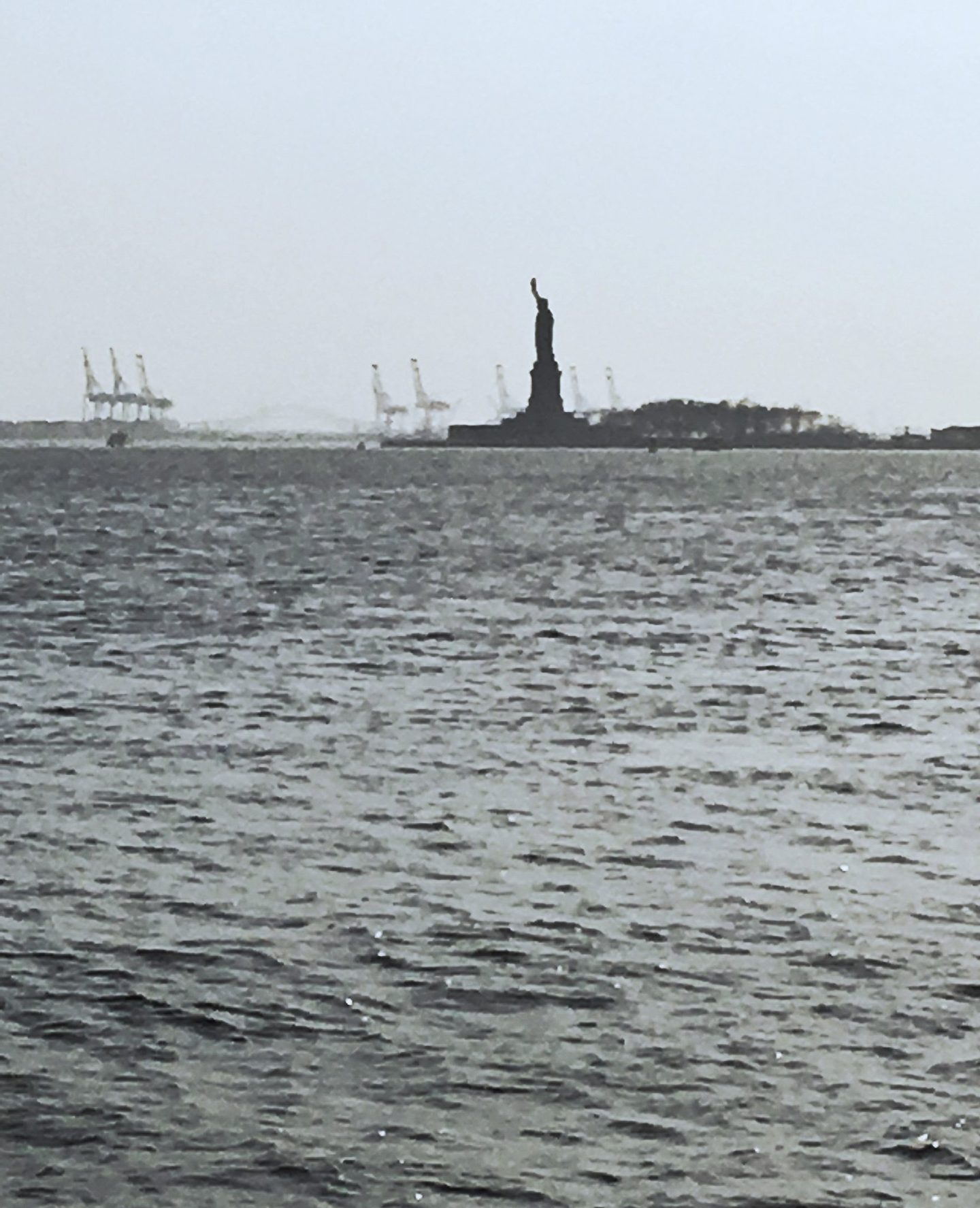 Statue of Liberty, Battery Park